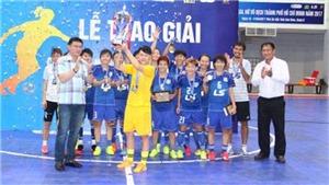 Quận 8 vô địch Giải futsal nữ TP.HCM 2017