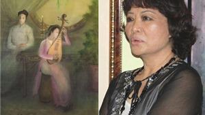 """Họa sĩ Ngọc Mai: Nàng Kiều """"thuần Việt"""" tranh lụa"""