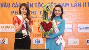 Người đẹp Hoa hậu các Dân tộc Việt Nam trình diễn tài năng