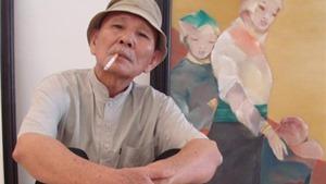 Họa sĩ Phạm Cung: Tôi trẻ lâu nhờ vẽ đàn bà
