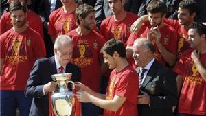 Tây Ban Nha hậu EURO 2012: Cúp EURO sẽ mang lại núi euro?