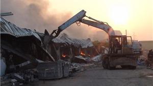 Vụ cháy ở nhà máy Diana Bắc Ninh gây thiệt hại khoảng 200 tỷ đồng
