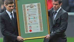 Steven Gerrard tặng 96.000 bảng cho quỹ từ thiện Hillsborough