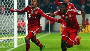 Thiago vô-lê tuyệt đẹp giúp Bayern đánh bại Stuttgart