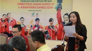 Tổng Biên tập Báo Thể thao & Văn hóa: 'Sau ánh hào quang huy chương là bao mồ hôi và nước mắt'