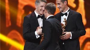 Klose và Lahm được vinh danh vì đưa tuyển Đức vô địch World Cup
