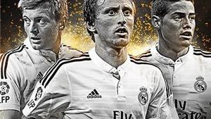 CẬP NHẬT tin tối 28/11: Real áp đảo danh sách đề cử tiền vệ xuất sắc nhất 2014. Messi tới Chelsea là võ đoán