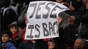 Ancelotti hài lòng với sự trở lại của Jese