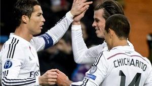 Real Madrid 4-0 Ludogorets: Ronaldo, Bale ghi bàn, Real lập kỷ lục Champions League