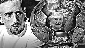 Từ lời cáo buộc của Ribery đến bản chất của giải Quả Bóng Vàng FIFA