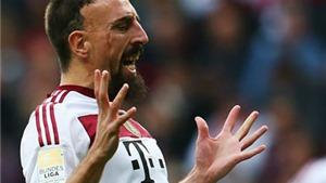 Ribery: 'Quả bóng vàng chỉ là bữa tiệc của Messi và Ronaldo'