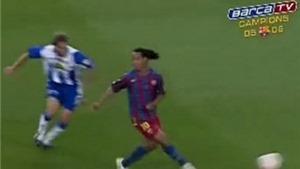 Kĩ thuật 'lườm rau gắp thịt' không còn là đặc sản của Ronaldinho