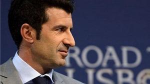 Luis Figo tuyên bố ra tranh cử Chủ tịch FIFA