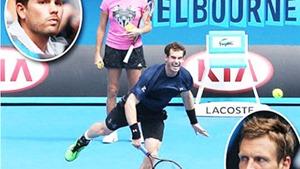 Australian Open 2015 - ngày thi đấu thứ 11: Serena gặp Sharapova ở chung kết đơn nữ, Murray vào chung kết đơn nam