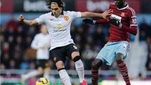 Điểm nhấn West Ham 1-1 Man United: Daley Blind cứu thầy. Hai hàng công đối lập