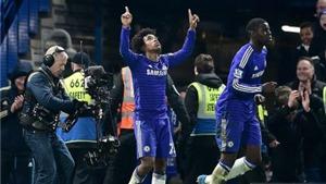 Chelsea 1-0 Everton: Thẻ đỏ, Ivanovic 'cắn người' & khoảnh khắc xuất thần của Willian