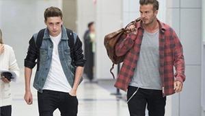 Brooklyn Beckham đã lên U18 Arsenal dù mới 15 tuổi