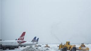 Hủy hàng nghìn chuyến bay do băng tuyết tại sân bay lớn bậc nhất thế giới