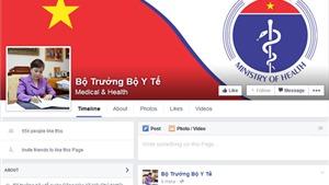 Remote: Facebook của Bộ trưởng