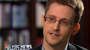 Edward Snowden đang thương lượng: 'Quay về Mỹ nếu được xét xử công bằng'