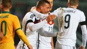 CẬP NHẬT tin sáng 26/3: Đức suýt thua Úc. Bendtner lập hat-trick. Skrtel lĩnh án phạt nặng