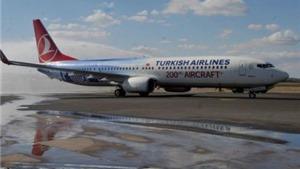 Máy bay Thổ Nhĩ Kỳ hạ cánh khẩn cấp do đe dọa bom
