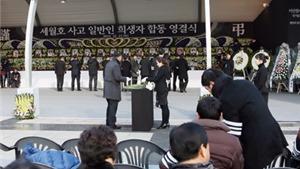 Hàn Quốc bồi thường 250 học sinh thiệt mạng vụ chìm phà Sewol
