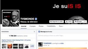 Tin tặc IS tấn công truyền hình Pháp