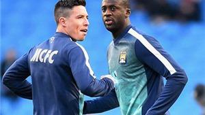Man City quyết định bán Nasri và Toure