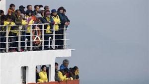 Ngày giỗ đầu của các nạn nhân vụ chìm phà Sewol