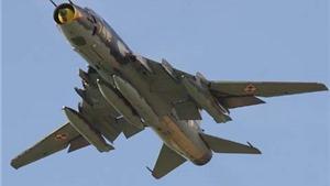 Tìm thấy một động cơ và một cánh máy bay Su 22 trên biển Bình Thuận