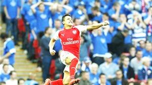 Bán kết Cúp FA, Reading 1-2 Arsenal: Alexis Sanchez một tay đưa Arsenal vào Chung kết