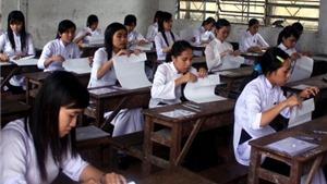 50% thí sinh dự thi chỉ để xét tốt nghiệp
