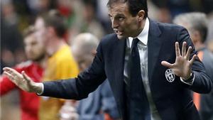 HLV Max Allegri của Juventus sợ gặp phải Bayern Munich ở Bán kết Champions League