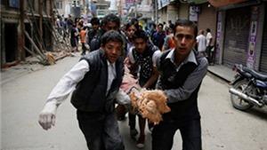 Chết chóc và tình người trong trận động đất kinh hoàng ở Nepal