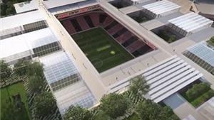 AC Milan hé lộ kế hoạch xây SVĐ 'sáng tạo nhất hành tinh'