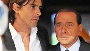 Milan khủng hoảng: Cả Inzaghi và Berlusconi sẽ rời San Siro?