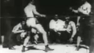 Xem lại trận đấu quyền anh đầu tiên được ghi hình cách đây 120 năm