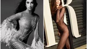 """Điểm mặt mỹ nhân phải lòng trào lưu mặc """"váy khỏa thân"""""""