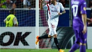 Lượt đi Bán kết Europa League: Sevilla đại thắng Fiorentina. Napoli  bị Dnipro cầm hòa