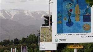 Tehran đưa kiệt tác nghệ thuật 'xuống phố'