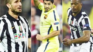 Tái ngộ Evra và Chiellini, Suarez có tiếp tục phân biệt chủng tộc và cắn người?