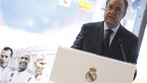Real Madrid của Florentino Perez đã chi 1,2 tỷ euro để mua sắm ngôi sao