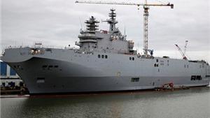 Tranh cãi quanh tàu chiến Mistral: Nga, Pháp 'bí' tiếng nói chung