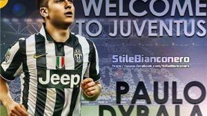 Paulo Dybala đến Turin kiểm tra y tế, sẵn sàng gia nhập Juventus