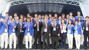 Lễ thượng cờ đoàn TTVN tại SEA Games 2015: Mong Quốc kỳ Việt Nam nhiều lần được kéo lên ở Singapore