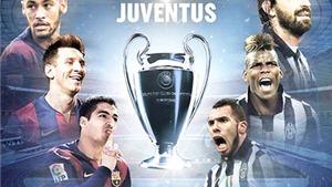 01h45 ngày 7/6, Juventus - Barcelona: Bí ẩn Barca, bí hiểm Juve. Ai chiến thắng?