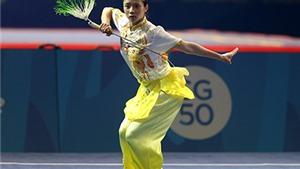 'Cô gái Vàng' Dương Thúy Vi đẹp rực rỡ ở bài biểu diễn giành HCV ở SEA Games 2015