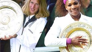 Steffi Graf: Serena Williams sẽ phá được kỷ lục của tôi