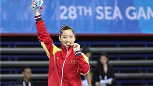 Vượt qua thử thách từ chấn thương, Hà Thanh giành HCV đầu tiên tại SEA Games 2015